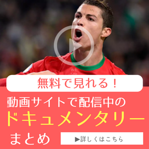 無料で見れる! サッカードキュメンタリー動画