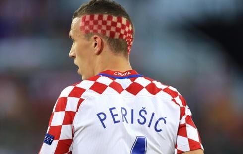 ペリシッチの奇抜な髪型
